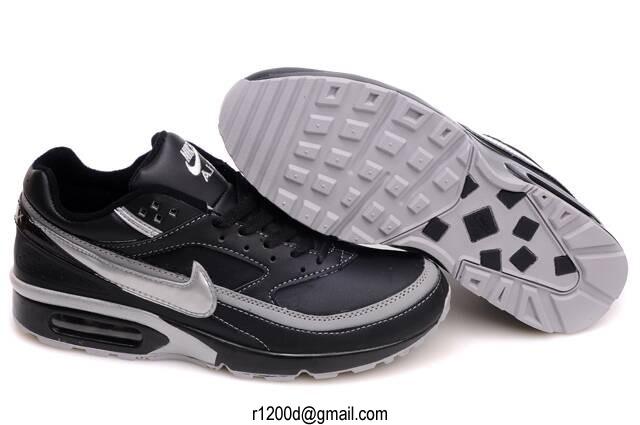 air max classic bw cuir noir