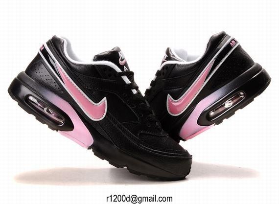 air max bw femme rose et noir