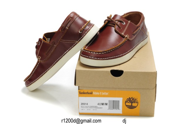 A Timberland Bateau chaussures Marron Toulouse Chaussures 3jqRc54SAL