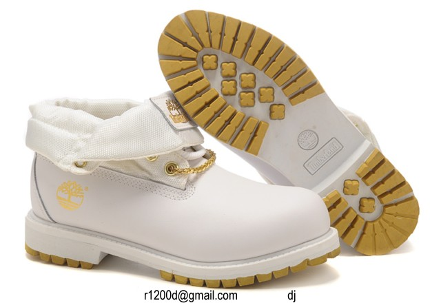 botte timberland blanche