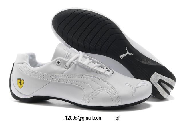 basket blanche homme puma