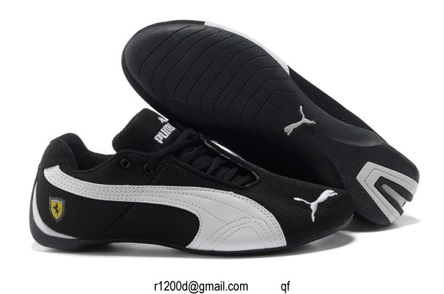chaussure puma tissu