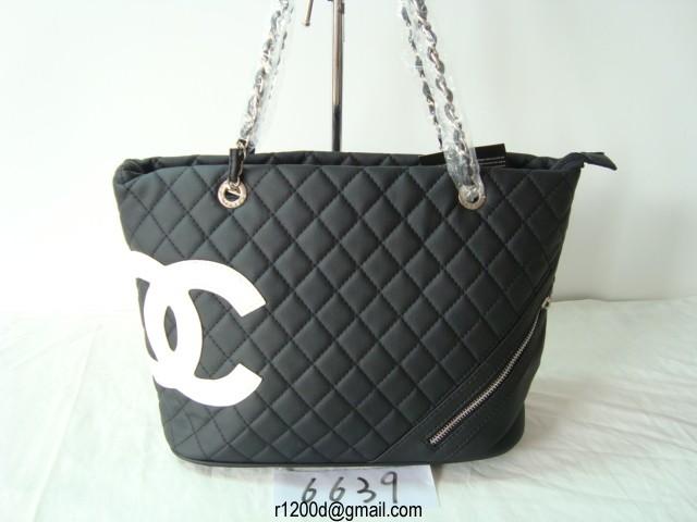 Sac A Main Chanel Blanc Et Noir : Sac chanel le prix noir et blanc a main de