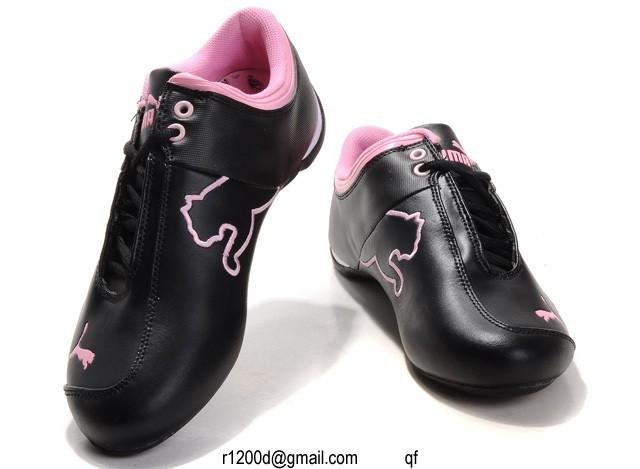 puma femme chaussure marron