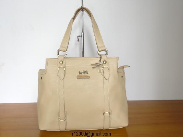 sac coach vintage sac en cuir beige femme sac a main coach usa. Black Bedroom Furniture Sets. Home Design Ideas