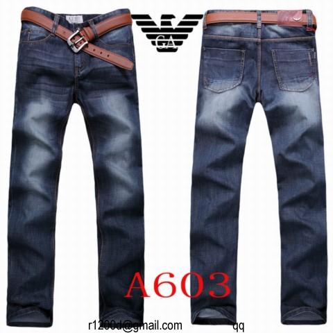 101a394de52f jeans armani homme pas cher