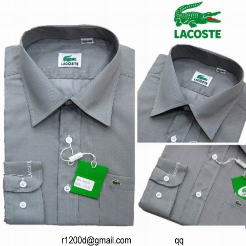 12a7596cb99 chemise lacoste homme