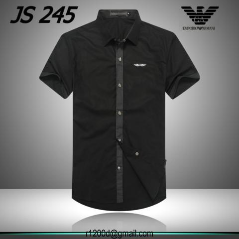 prix chemise emporio armani acheter chemise armani pas cher chemise manche courte homme armani. Black Bedroom Furniture Sets. Home Design Ideas